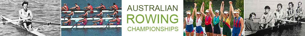 history of australian national rowing championships
