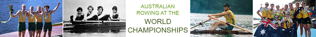 history of australian rowing at world championships