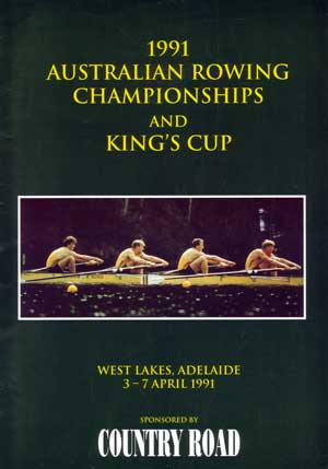 1991 National Championships program cover