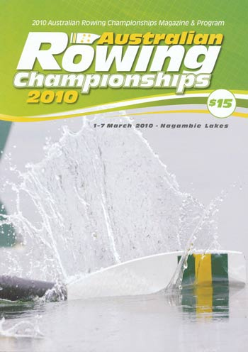 2010 National Championships Programme Cover
