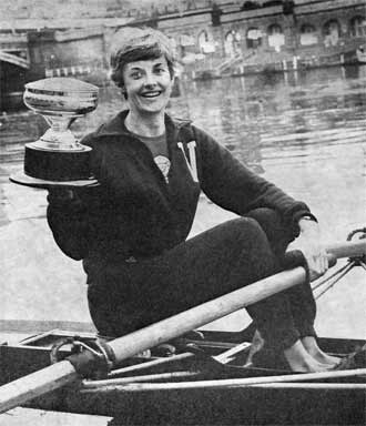 1968 Women's Lightweight Scull Kath Suhr