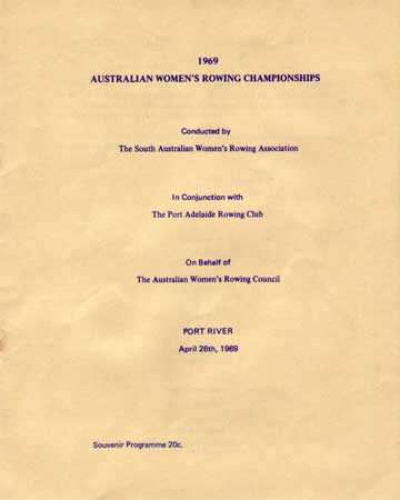 1969 programme cover
