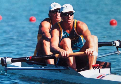 australian men's coxless pair