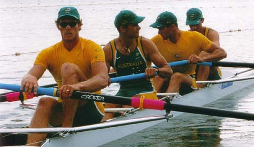 men's coxless four