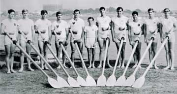 Men's Eight in Sydney