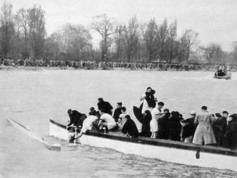 1951 - Oxford after sinking