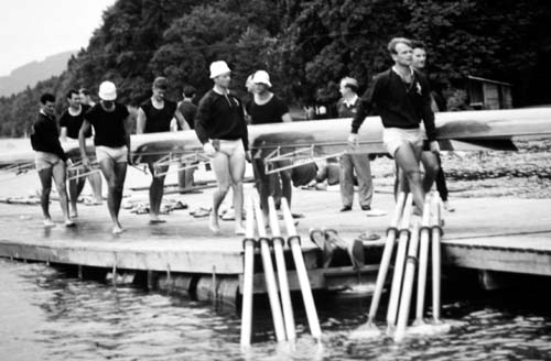 Men's Eight in Lucerne